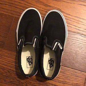 Kids Black Vans